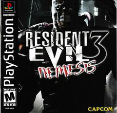Manual - Front | Resident Evil 3 Nemesis Playstation