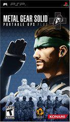 Metal Gear Solid Portable Ops Plus PSP Prices