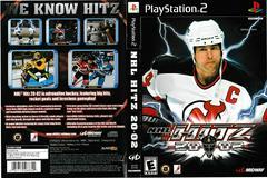 Artwork - Back, Front | NHL Hitz 2002 Playstation 2