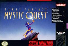 Final Fantasy Mystic Quest Super Nintendo Prices