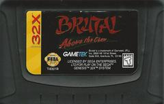 Brutal Above The Claw - Cartridge | Brutal: Above the Claw Sega 32X