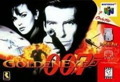 007 GoldenEye - Front | 007 GoldenEye Nintendo 64