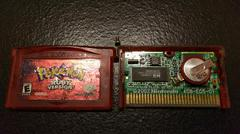 Pokemon Ruby Cartridge And Board Front | Pokemon Ruby GameBoy Advance