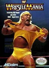 WWF Wrestlemania - Front | WWF Wrestlemania NES