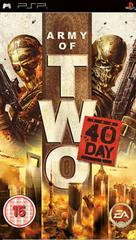 Army of Two: The 40th Day PAL PSP Prices