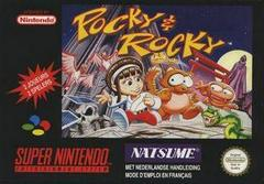 Pocky & Rocky PAL Super Nintendo Prices
