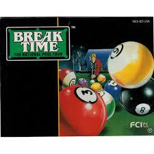 Break Time - Instructions | Break Time The National Pool Tour NES