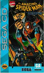 Manual - Front | Spiderman vs Kingpin Sega CD