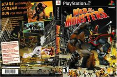 Artwork - Back, Front | War of the Monsters Playstation 2