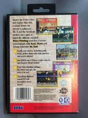Back Of Case | Streets of Rage 3 Sega Genesis