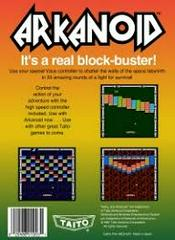 Arkanoid - Back | Arkanoid [5 Screw] NES