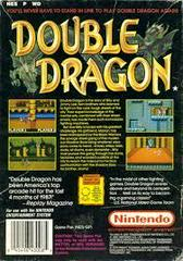 Double Dragon - Back | Double Dragon NES