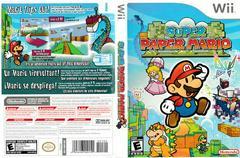 Artwork - Back, Front | Super Paper Mario Wii