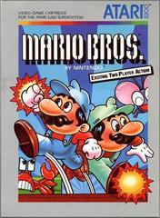 Mario Bros - Front   Mario Bros. Atari 5200