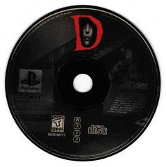 Game Disc 2   D [Long Box] Playstation
