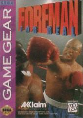 Foreman for Real Sega Game Gear Prices
