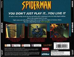 Back Of Case | Spiderman Playstation