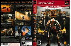 Artwork - Back, Front | God of War 2 [Greatest Hits] Playstation 2