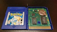Pokemon Blue Cartridge And Board Front | Pokemon Blue GameBoy