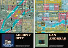 "2 Sided Map/Poster 11"" X 8"" - Back 
