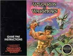 Wizards And Warriors - Instructions | Wizards and Warriors NES