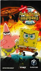 Manual - Front | SpongeBob SquarePants The Movie Gamecube