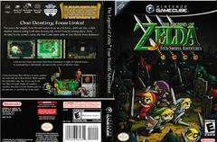 Artwork - Back, Front | Zelda Four Swords Adventures Gamecube