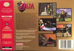 Box Back | Zelda Ocarina of Time Nintendo 64