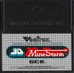 Cartridge | 3D Mine Storm Vectrex