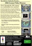 20th Century Video Almanac - Back | 20th Century Video Almanac 3DO