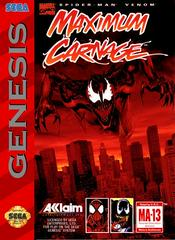 Spiderman Maximum Carnage Sega Genesis Prices