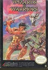 Wizards And Warriors - Front | Wizards and Warriors NES