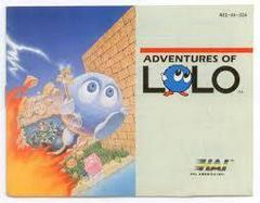 Adventures Of Lolo - Instructions | Adventures of Lolo NES