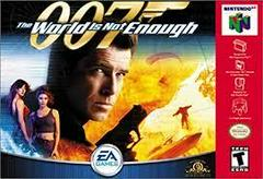 007 World Is Not Enough - Front | 007 World Is Not Enough Nintendo 64
