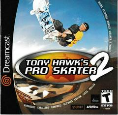 Manual - Front | Tony Hawk 2 Sega Dreamcast