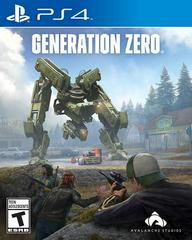 Generation Zero Playstation 4 Prices