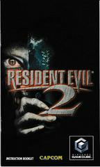 Manual - Front | Resident Evil 2 Gamecube