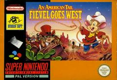 An American Tail Fievel Goes West PAL Super Nintendo Prices