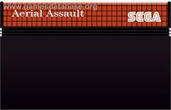 Cartridge    Aerial Assault PAL Sega Master System