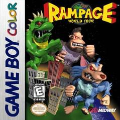 Rampage World Tour GameBoy Color Prices