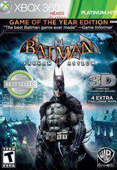Batman: Arkham Asylum [Game of the Year] Xbox 360 Prices
