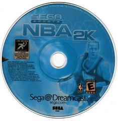 Game Disc | NBA 2K Sega Dreamcast