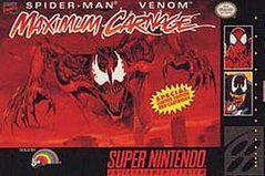 Spiderman Maximum Carnage Super Nintendo Prices