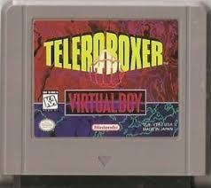 Teleroboxer - Cartridge | Teleroboxer Virtual Boy