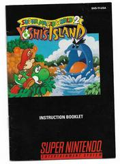 Manual | Super Mario World 2 Yoshi's Island Super Nintendo