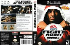 Artwork - Back, Front | Fight Night Round 2 Gamecube
