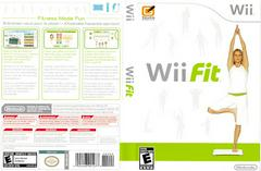 Artwork - Back, Front | Wii Fit (game Only) Wii