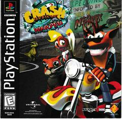 Manual - Front | Crash Bandicoot Warped Playstation