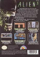 Alien 3 - Back | Alien 3 NES