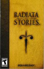 Manual - Front   Radiata Stories Playstation 2